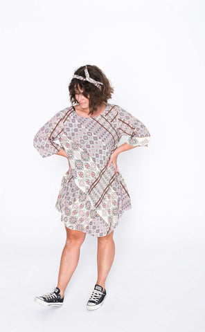 Twinkle Cori 3/4 Sleeve Dress - Front