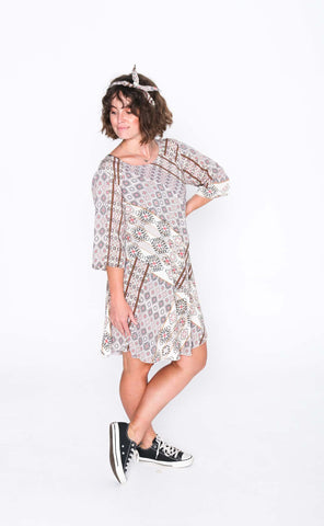 Twinkle Cori 3/4 Sleeve Dress - Side
