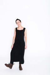 Black Fisher Dress - Front
