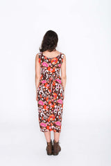 Retro Groove Fisher Dress - Back