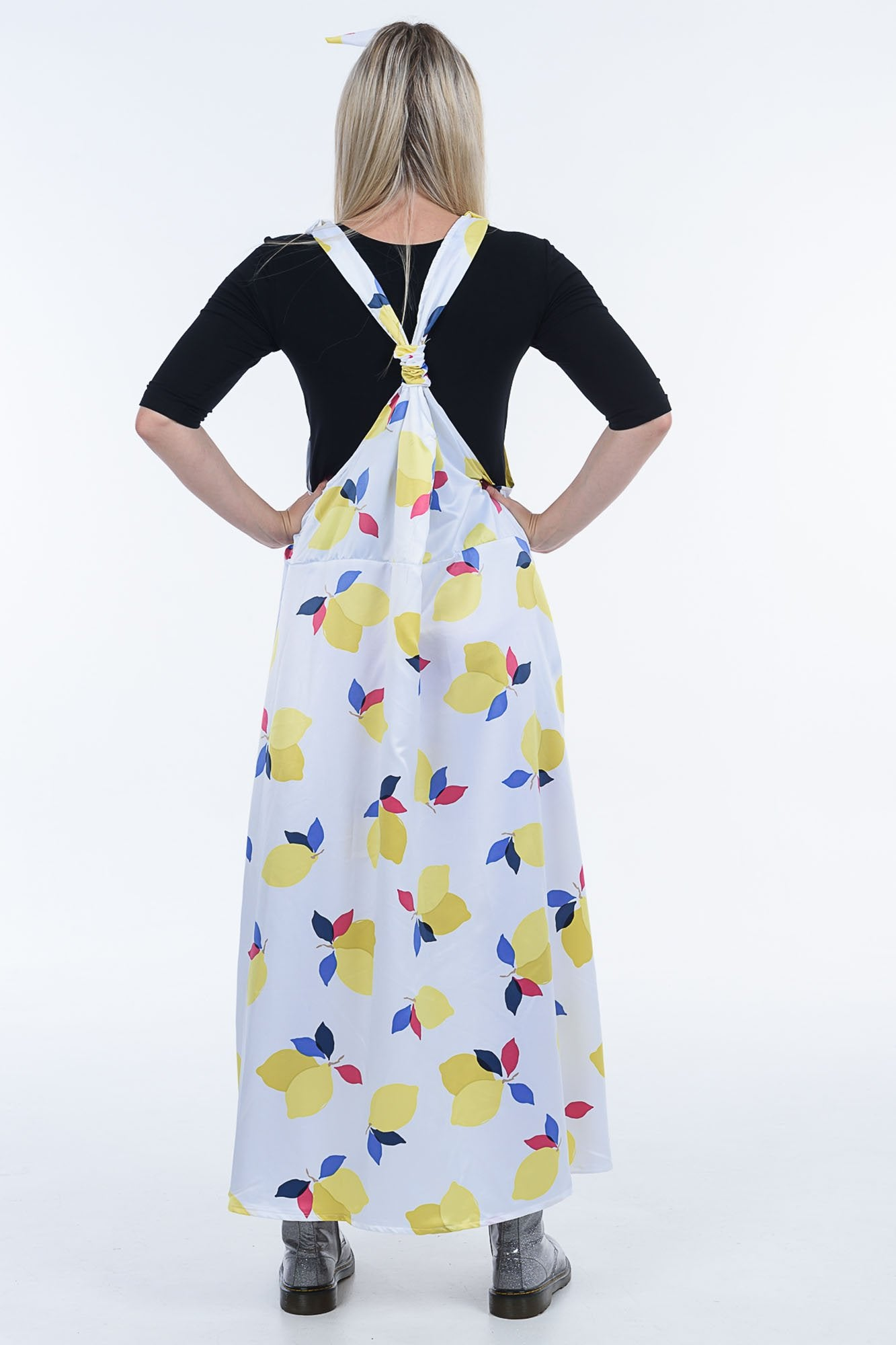Lemons Moggie Overall Dress