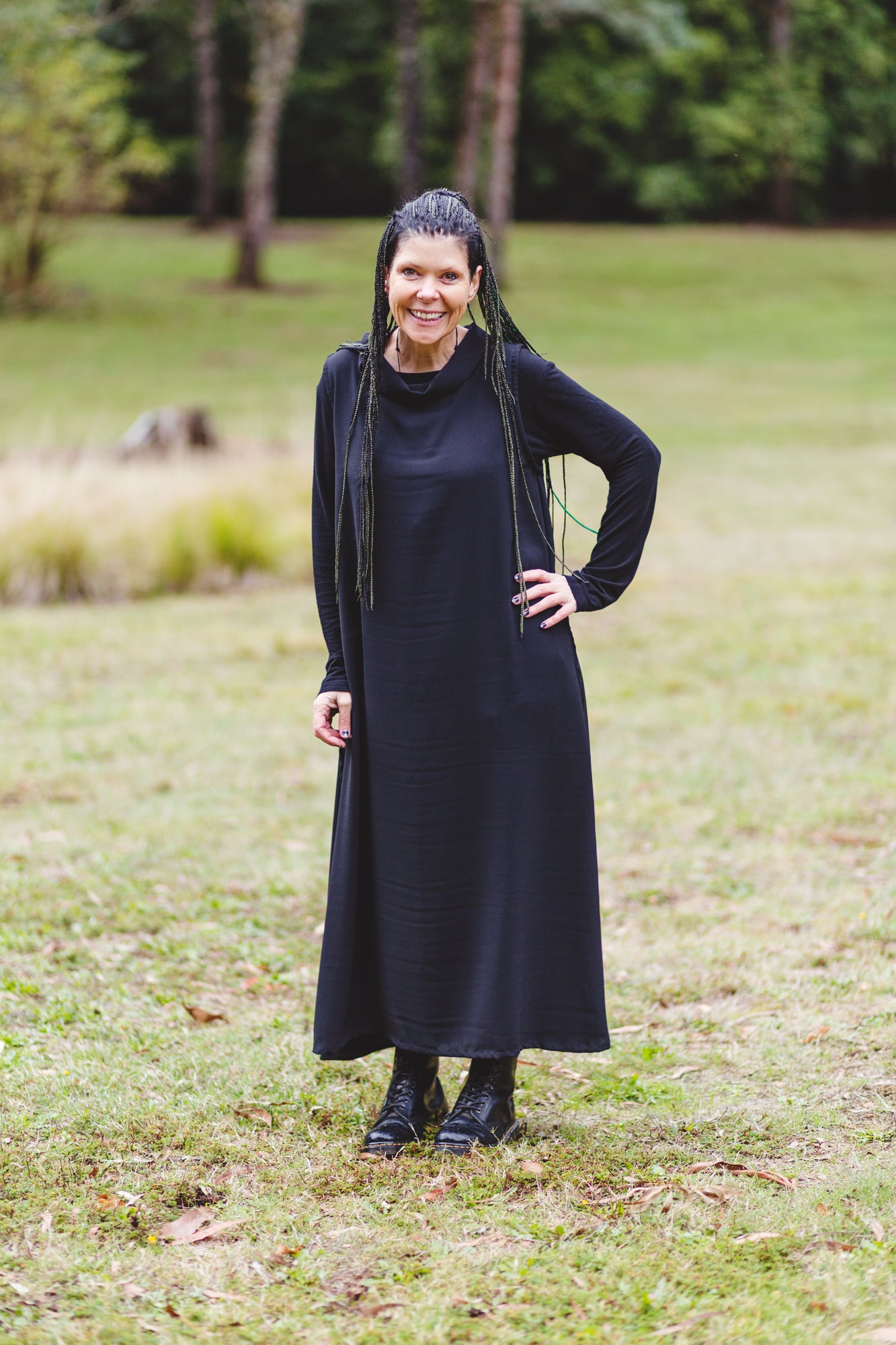Roll Neck Maxi