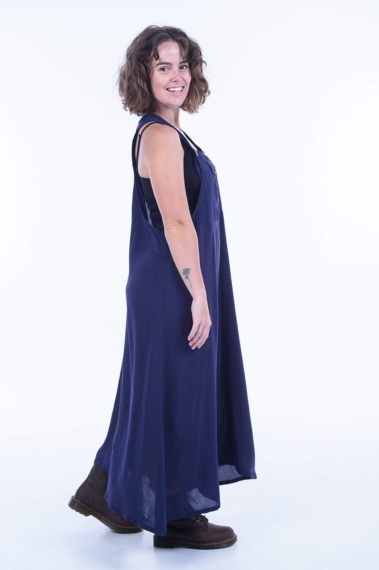 Midnight Sammy Overall Dress