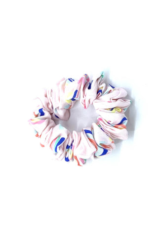 Pink Rainbow Scrunchie