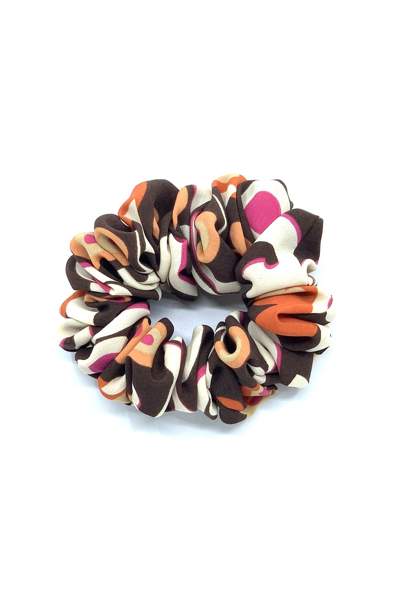 Retro Groove Scrunchie