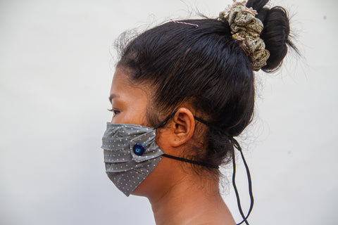Face Mask - Button Style