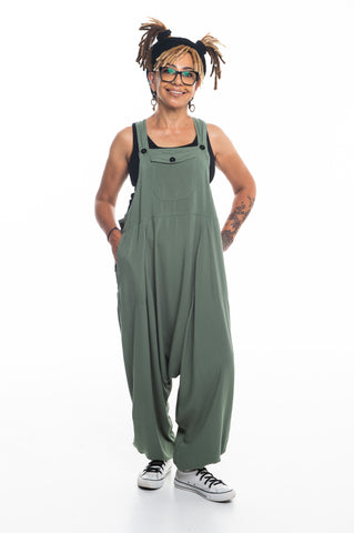 Mint Green Sammy Overalls