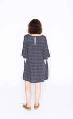 Navy Check Sammy Dress