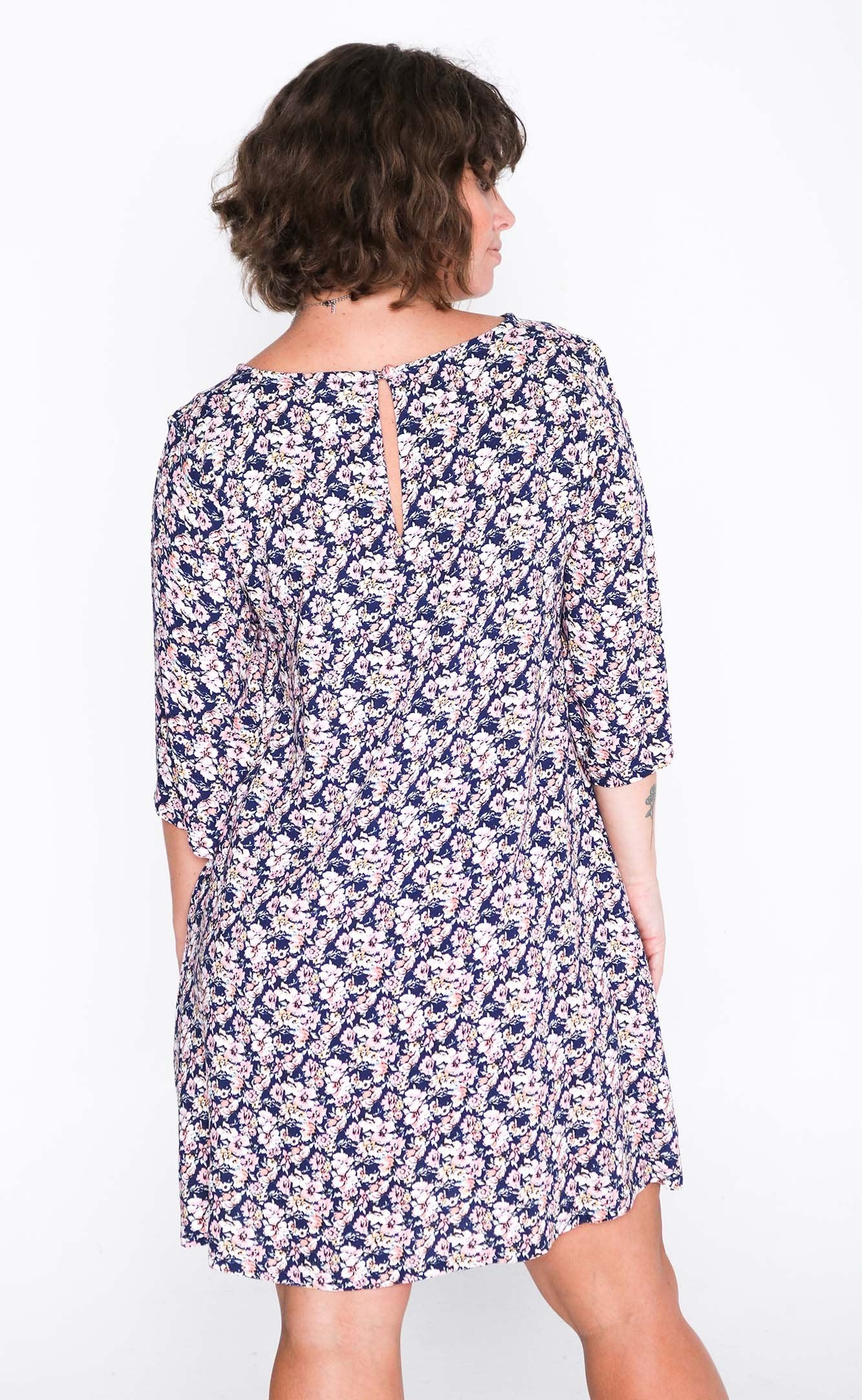 Pretty Pansy Sammy Dress - Back