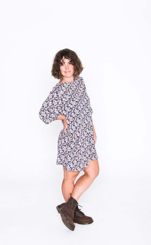 Pretty Pansy Sammy Dress - Side