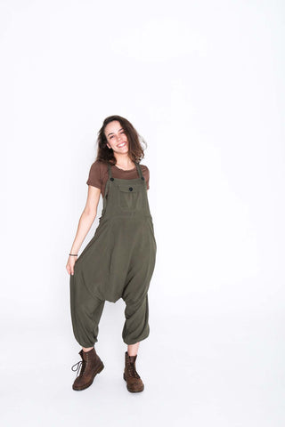 Army Green  Sammy Overalls