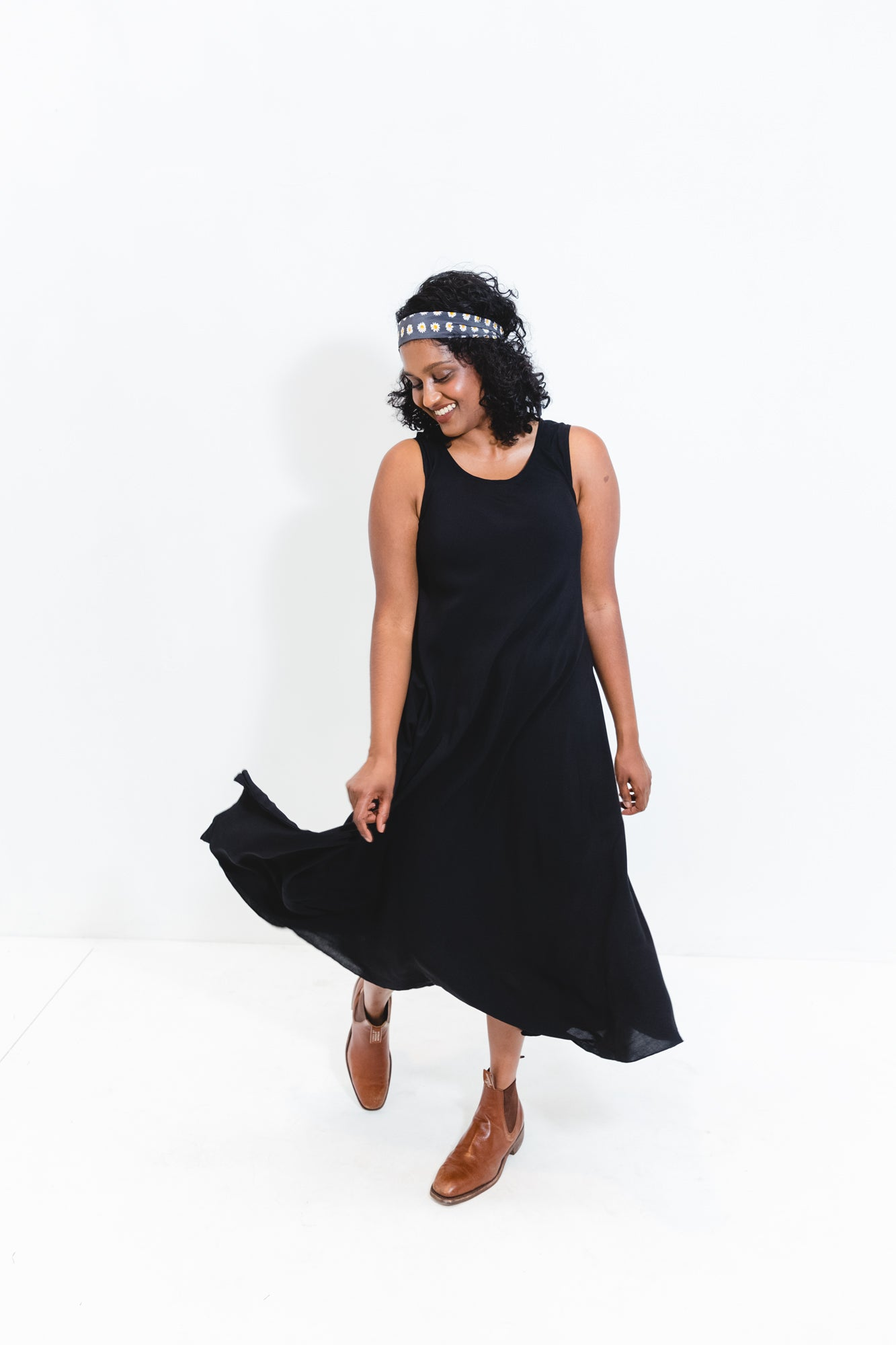 Black Srey Touch Dress