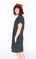 Black Diamond Socheat Pocket Dress - Side