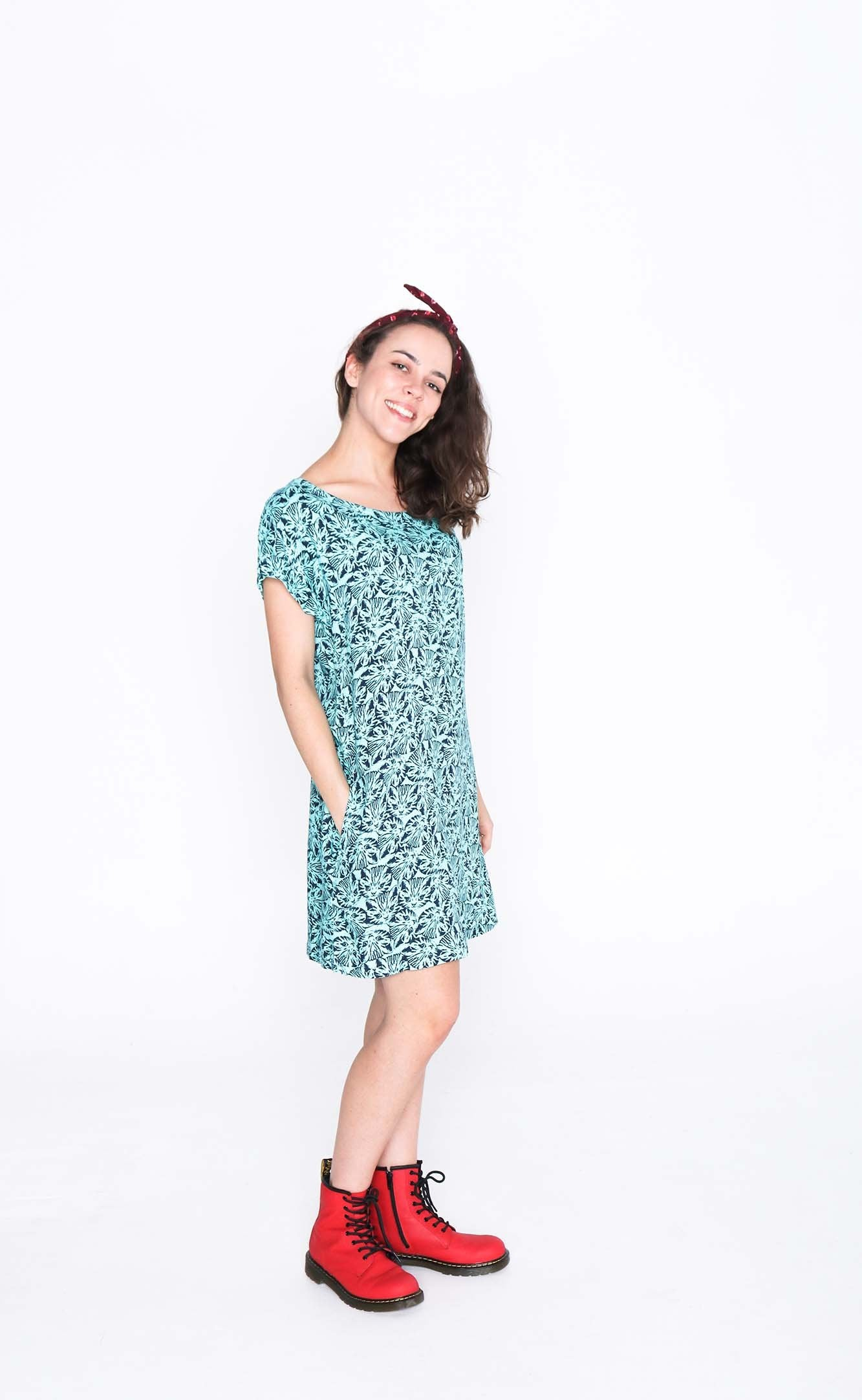 Cats Socheat Pocket Dress - Side