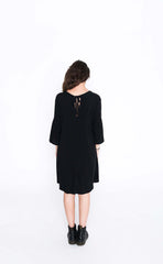 Black Susie Dress - Back