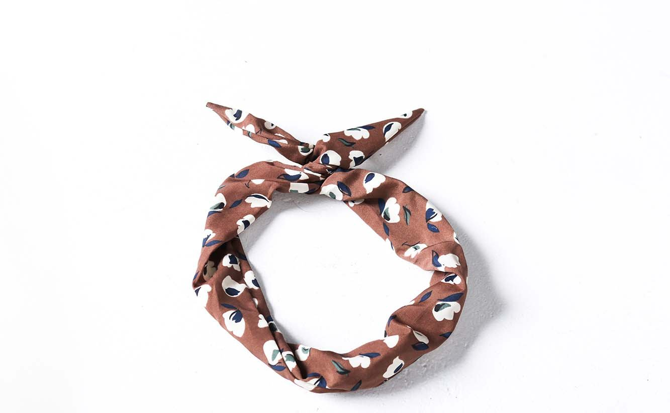 Chocolate Mess Wire Headband