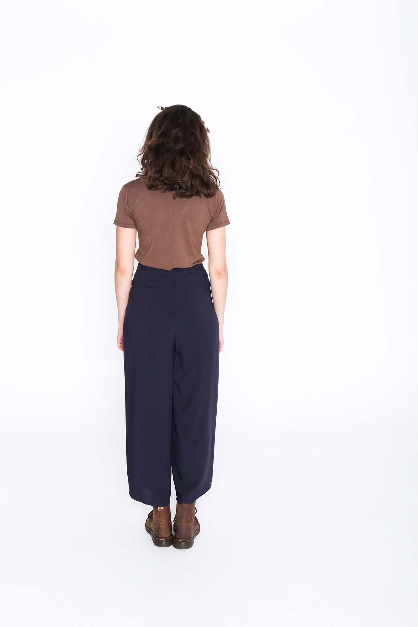 Midnight Wrap Pants - Back