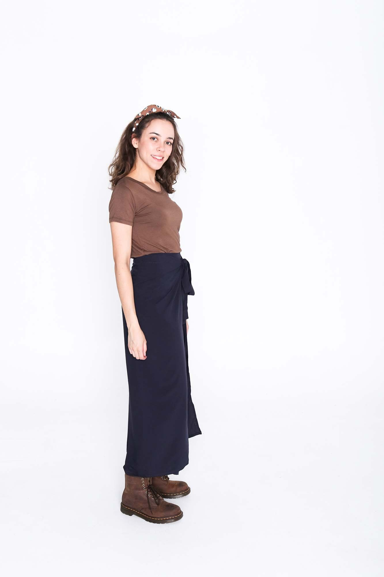 Midnight Wrap Pants - Side