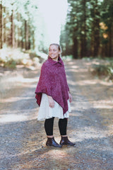 Button Collar Poncho