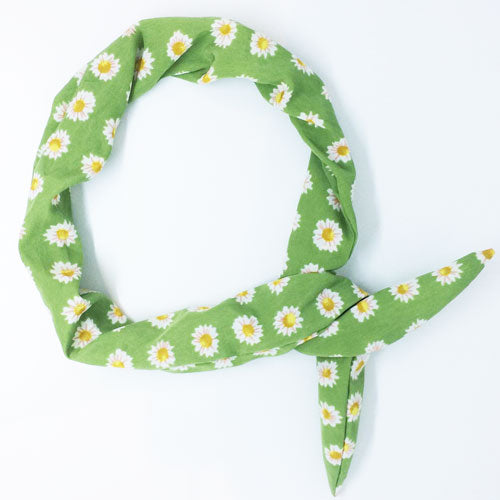 Wire Headband - Mint Daisy