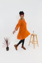 Rust Susie Dress