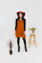 Rust Zara Dress