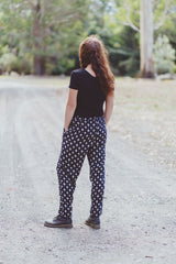 Tapered Leg Pants