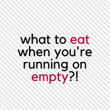 Nourish: No Dinner, and No Energy: What to Make when you're Running on Empty