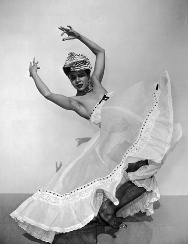 Katherine Dunham in a photograph from around 1945.