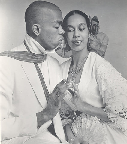 Photograph by Peter Bausch. Geoffrey Holder/Carmen de Lavallade Collection, Rose Library at Emory University.