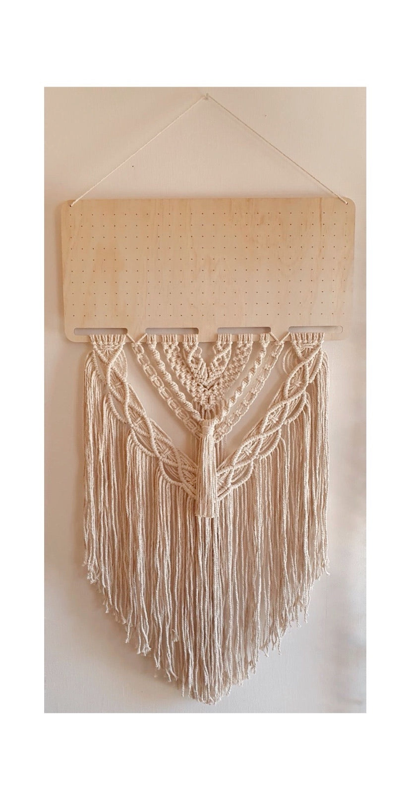 Large Rectangle Macrame Earring Board