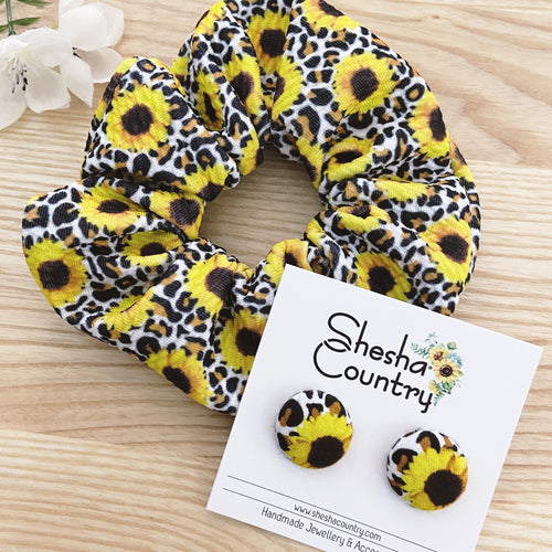 Sunflower Leopard Set