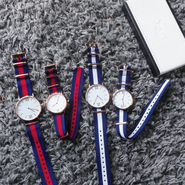 Marina Series Interchangeable Nato Strap Watch from Valor Watches Australia