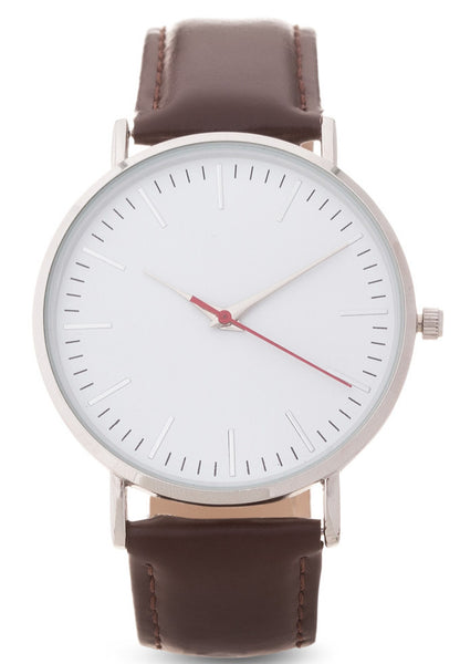 Bugsy Classic leather watch from Valor Watches Australia