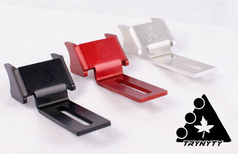 Trynyty Spoiler Foot Fenders Red Black Silver