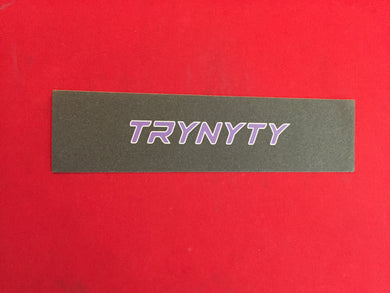 TRYNYTY Limited Alt Banner Purple & White Griptape (1 sheet)