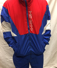TRYNYTY Limited Edition Retro Jacket - Blue/Red/White