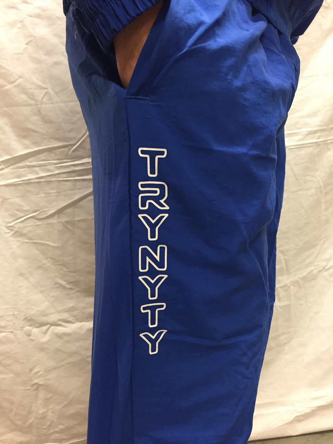 TRYNYTY Limited Edition Retro Track Pants - Royal Blue