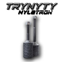 Trynyty Nylatron Pegs kit with banner