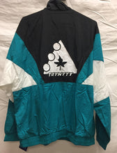 TRYNYTY Limited Edition Retro Jacket - Teal/White/Black