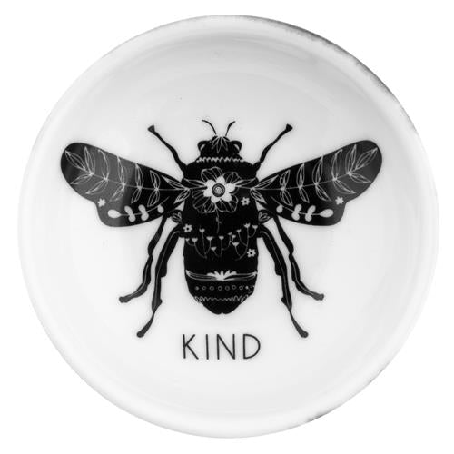 Bee Black & White Ring Bowl