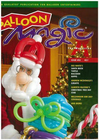 Balloon Magic Magazine #51 - Jolly Santa, Magazines, Qualatex, tmyers.com - T. Myers Magic Inc.
