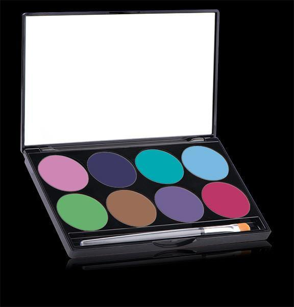 Paradise Pastel Palette kit, Face Paint, Mehron, tmyers.com - T. Myers Magic Inc.
