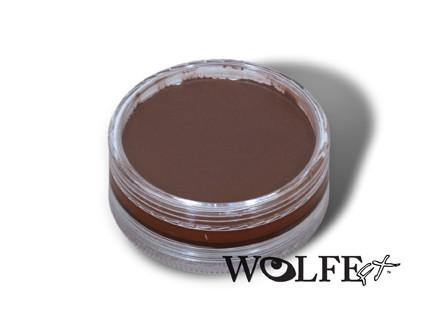 WB Hydrocolor Essentials Cake Brown-45g, Wolfe Paint, WolfeFX, tmyers.com - T. Myers Magic Inc.