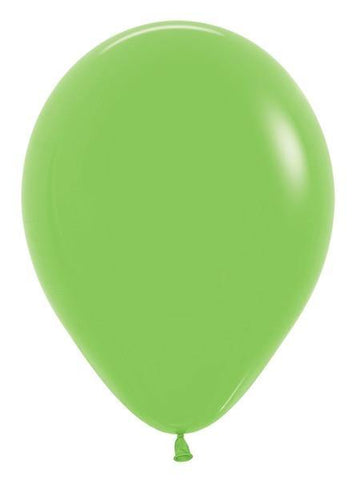 "11""Betallatex Deluxe Singles Key Lime-100 Count, 11RBD, Betallatex, tmyers.com - T. Myers Magic Inc."