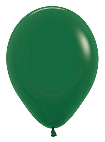 "11""Betallatex Fashion Singles Forest Green-100 Count"