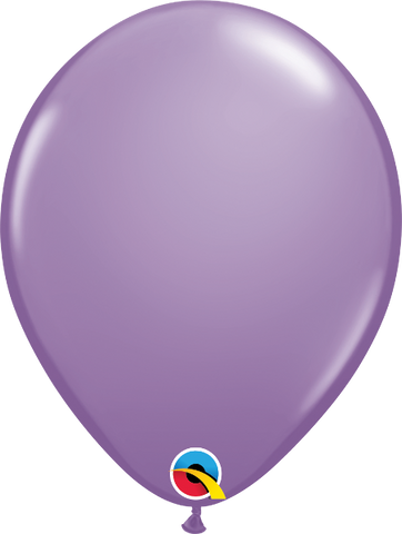"11"" Round Qualatex Fashion Spring Lilac -25 Count, 11RQF, Qualatex, tmyers.com - T. Myers Magic Inc."
