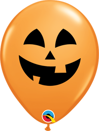 "11"" Halloween Jolly Jack 2 Sided (Seasonal)-50 Count, 11RQI, Qualatex, T. Myers Magic Inc. - T. Myers Magic Inc."