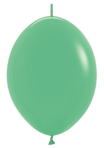 "12""Link-O-Loon Fashion Green-50 Count, 12LBF, Betallic, tmyers.com - T. Myers Magic Inc."