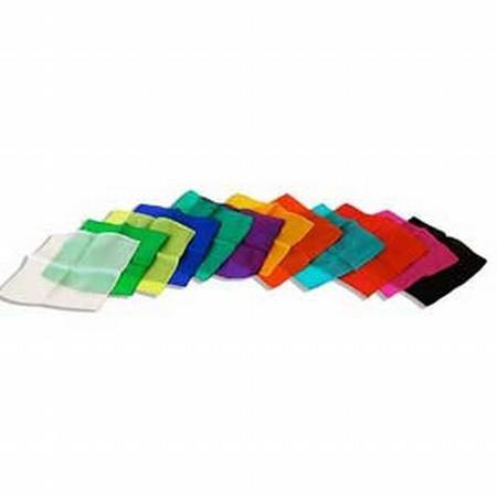 12 Inch Silk Color Assortment-12 Count, Magic, D Robbins, tmyers.com - T. Myers Magic Inc.